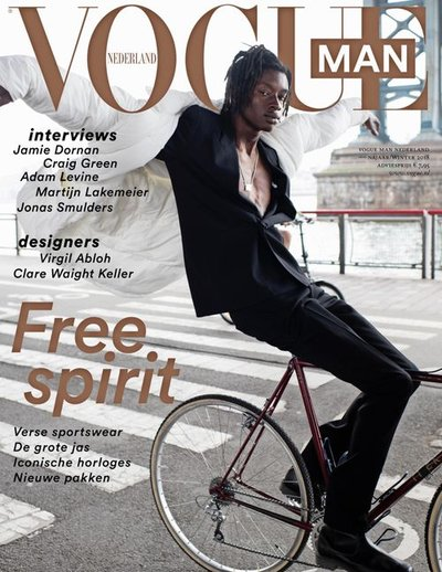 Abdulaye Niang - Ph: Anne Menke for Vogue Netherlands Man F/W 18