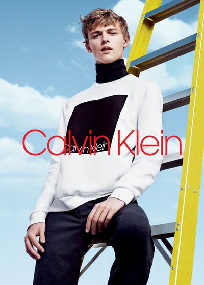 Max Barczak - Ph: Willy Vanderperre for Calvin Klein Main Label F/W 18