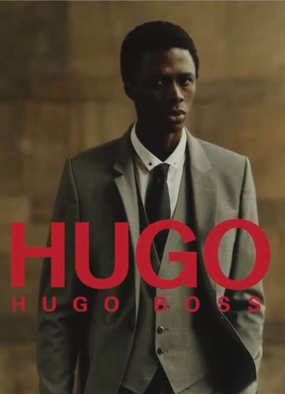 Cherif Douamba - Ph: for Hugo Boss Suits Spring 2020