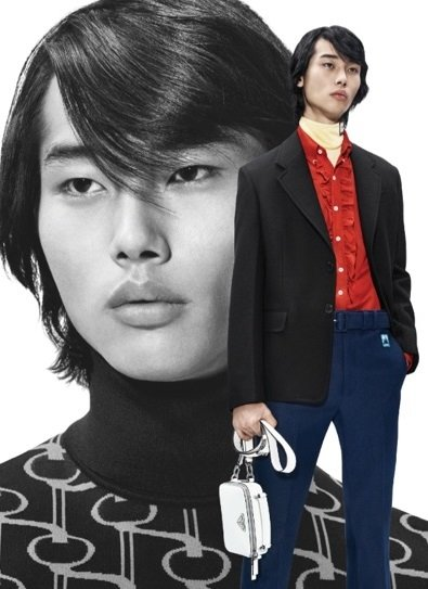 Tae Min Park - Ph: Willy Vanderperre for Prada S/S 19