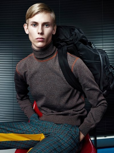 Oliver Houlby - Ph: Willy Vanderperre for Prada S/S 17