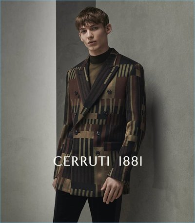 Christopher Einla - Ph: Ralph Mecke for Cerruti 1881 Fall 2018