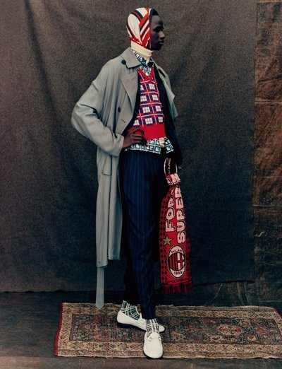 Malick Bodian - Ph: Paolo Roversi for Vogue Hommes S/S 18