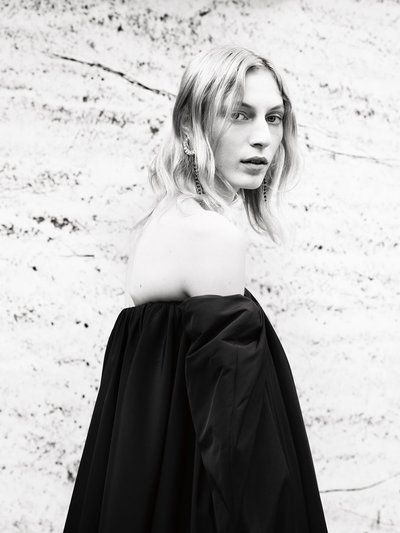 Julia Nobis - Ph: Willy Vanderperre for Calvin Klein Pre Spring 2018