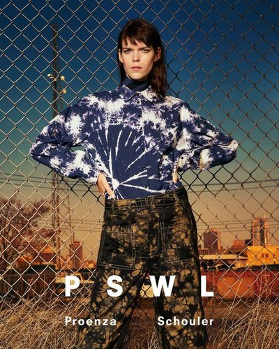 Meghan Collison - Ph: Ethan James Green for Proenza Schouler Spring 2019