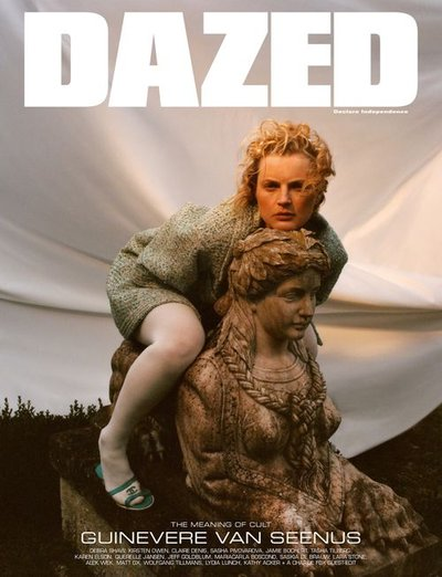Guinevere van Seenus - Ph: Tom Johnson for Dazed Spring 2019