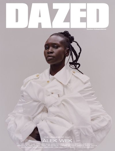 Alek Wek - Ph. Tyler Mitchell for Dazed Summer 2019