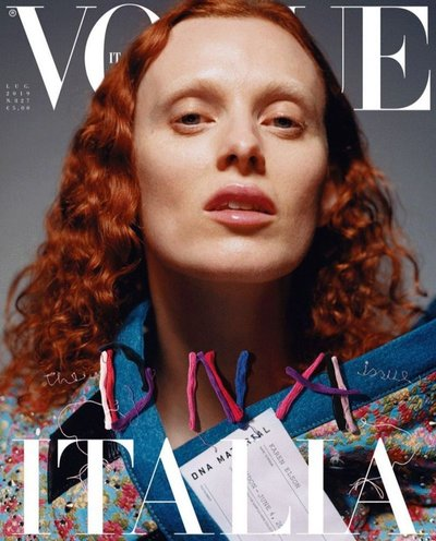 Karen Elson - Ph: Harley Weir for Vogue Italia July 2019