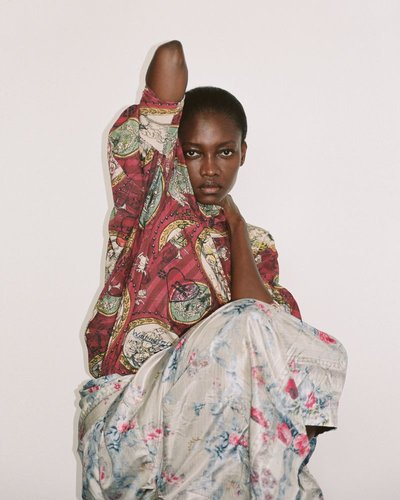 Oluchi Onweagba - Ph: Davit Giorgadze for W Magazine
