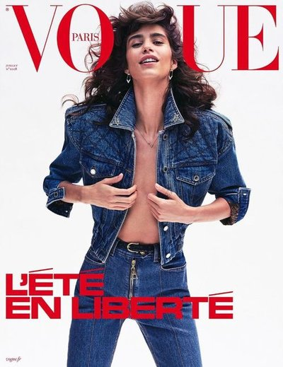 Mica Argañaraz - Ph: Nathaniel Goldberg for Vogue Paris July 2020