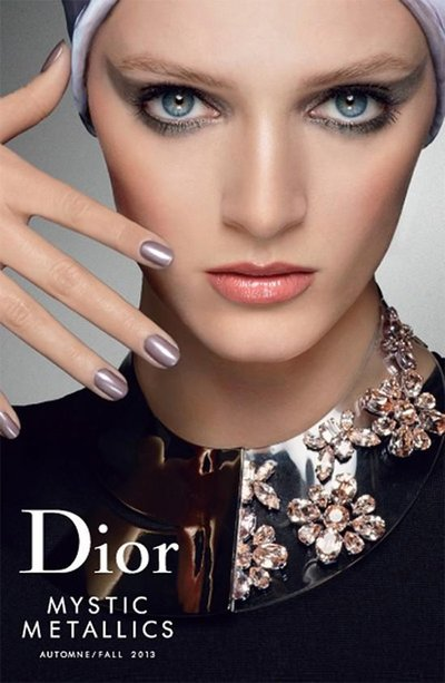 Daria Strokous - Dior Beauty Fall 2013 by Steven Meisel