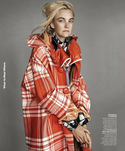 Caroline Trentini - Ph: Patrick Demarchelier for American Vogue March 2018
