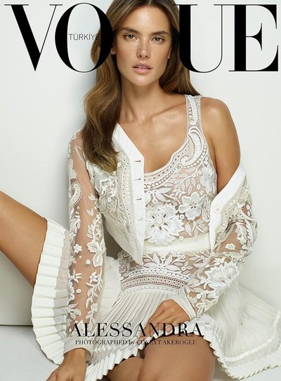 Alessandra Ambrosio - Ph: Cuneyt Akeroglu for Vogue Turkey Feb 2015
