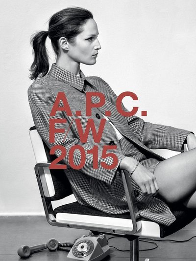 Vivien Solari - Ph: Collier Schorr for A.P.C. F/W 15