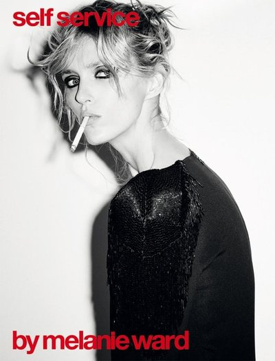 Anja Rubik - Ph. Ezra Petronio for Self Service F/W 15