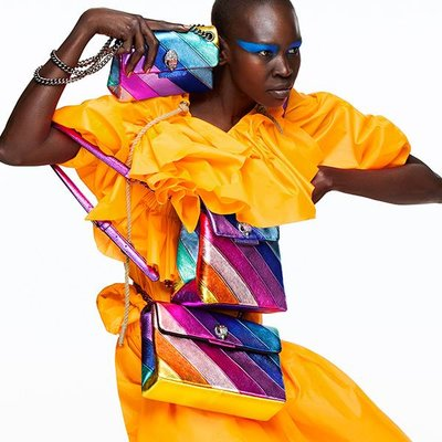Alek Wek - Ph. Erik Torstensson for Kurt Geiger F/W 18