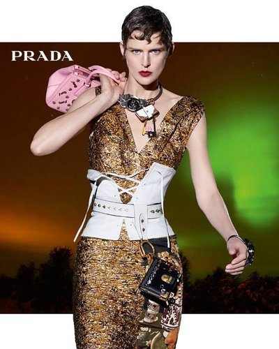 Stella Tennant - Ph: Steven Meisel for Prada F/W 16
