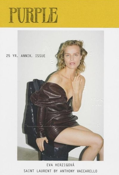 Eva Herzigova - Ph: Katja Rahlwes for Purple F/W 17