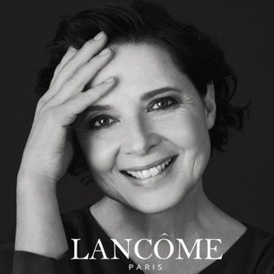 Isabella Rossellini - Ph: for Lancome 2017