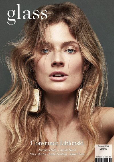 Constance Jablonski - Ph: Bojana Tatarska for Glass Summer 2018