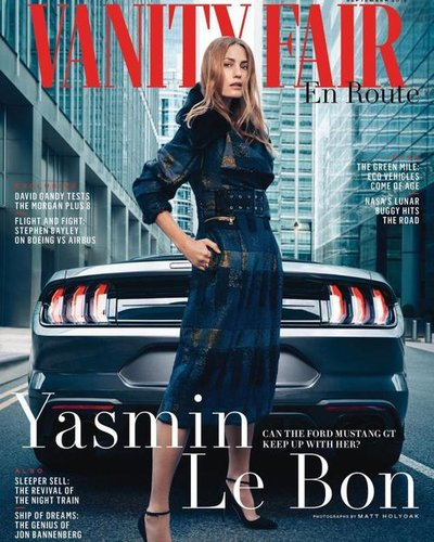 Yasmin Le Bon - Ph: Matt Holyoak for Vanity Fair UK Supplement Cover Sept 2018