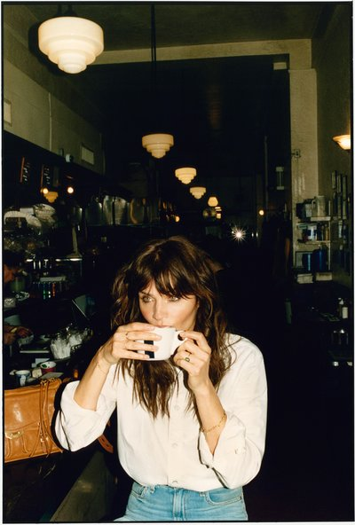 Helena Christensen - Ph: Quentin de Briey for Rag & Bone Spring 2019