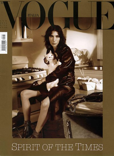 Jamie Bochert - Ph: Steven Meisel for Vogue Italia August 2012