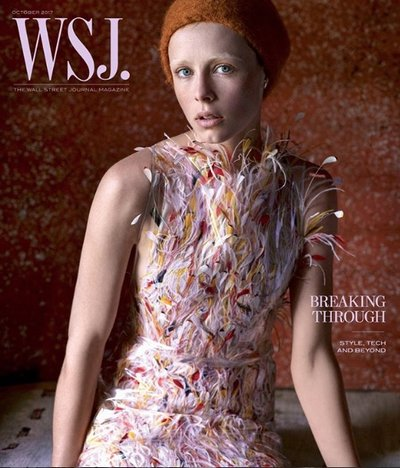 Edie Campbell - Ph: Mikael Jansson for WSJ September 2019
