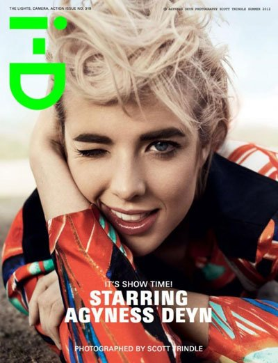 Agyness Deyn - Ph: Scott Trindle for i-D