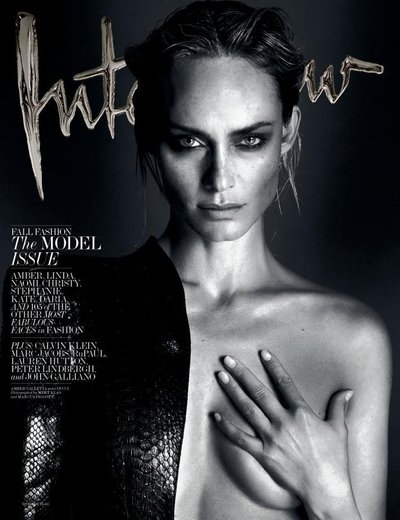 Amber Valletta - Ph: Mert Alas and Marcus Piggot for Interview Sept 2013