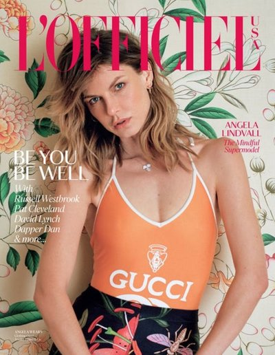 Angela Lindvall - Ph. Daria Kobayashi Ritch L'Officiel USA June/July 2018