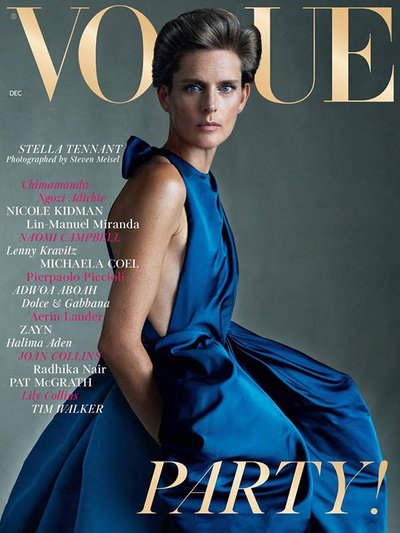 Stella Tennant - Ph: Steven Meisel for British Vogue December 2018