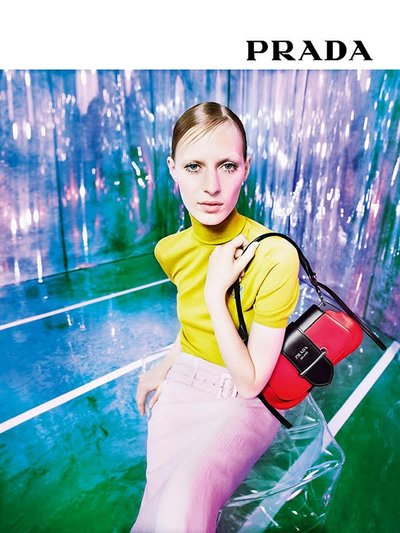 Julia Nobis - Ph: Willy Vanderperre for Prada Resort 2019
