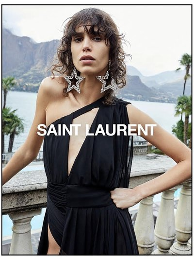 Mica Argañaraz - Ph: Juergen Teller for Saint Laurent S/S 19