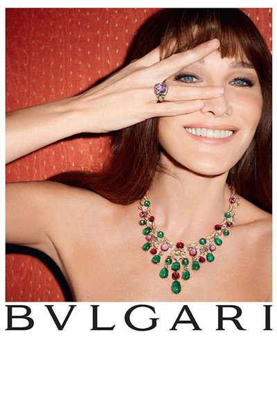 Carla Bruni - BVLGARI Diva Collection F/W 13 shot by Terry Richardson