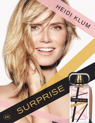 Heidi Klum - Heidi Klum Surprise Fragrance S/S 2013