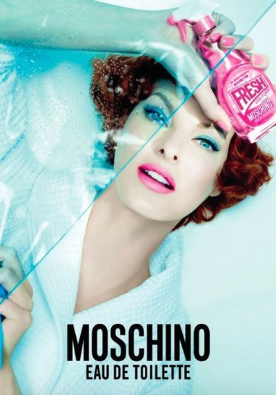 Linda Evangelista - Ph: Steven Meisel for Moschino Fragrance 2017