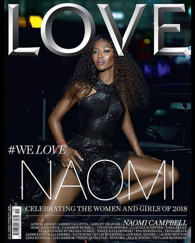 Naomi Campbell - Ph. Mert & Marcus for Love Magazine Spring 2018