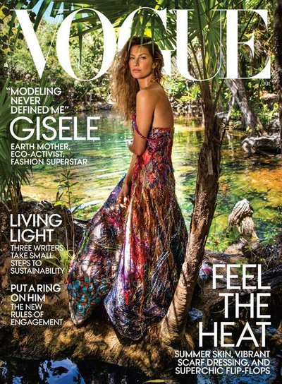 Gisele Bündchen - Ph: Inez and Vinoodh for American Vogue June 2018