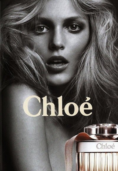 Anja Rubik - PH: Inez van Lamsweerde and Vinoodh Matadin for Chloe Fragrance 2010