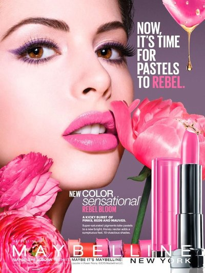 Kemp Muhl - Ph: for Maybelline 2015