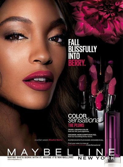 Jourdan Dunn - Ph: for Maybelline 2015