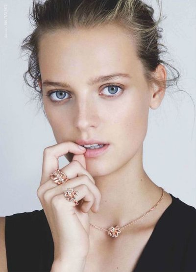 Ine Neefs - Ph. Patrick Demarchelier for Dior Jewellery 2016