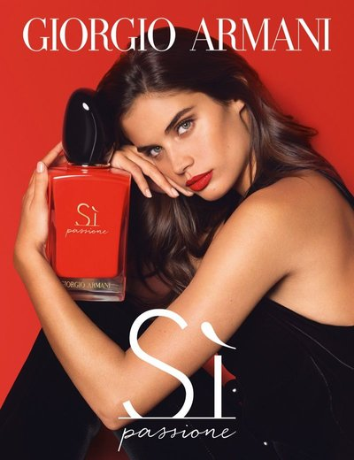Sara Sampaio - Ph: Tom Munro for Giorgio Armani Fragrance 2018