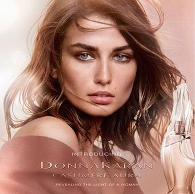 Andreea Diaconu - Ph: Peter Lindbergh for DKNY Fragrance 2017