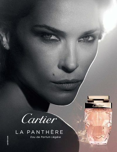 Erin Wasson - Ph: Peter Lindbergh for Cartier La Panthere Legere Fragrance 2018