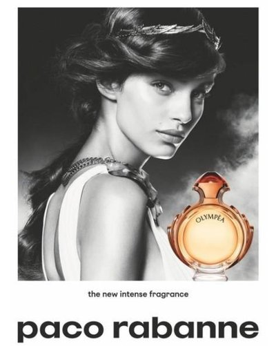 Luma Grothe - Ph: for Paco Rabanne Olympea Fragrance 2018