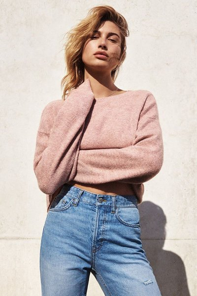 Hailey Baldwin - Ph: Cass Bird for H&M Fall 2017