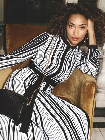 Anais Mali - Photo: Laura Coulson for Karen Millen S/S 18