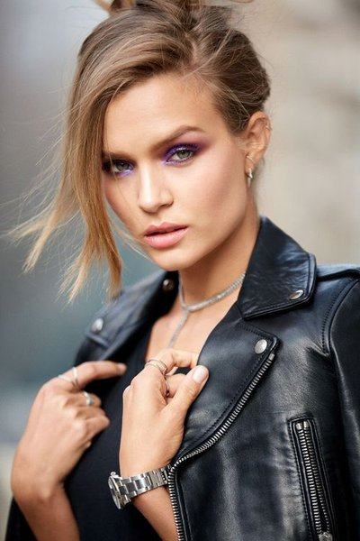 Josephine Skriver - Announcement for Maybelline, Spring 2018